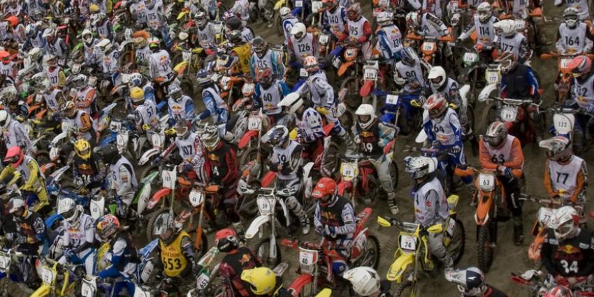 Red Bull Knock Out! gewonnen door motorcrosser Axel van de Zande