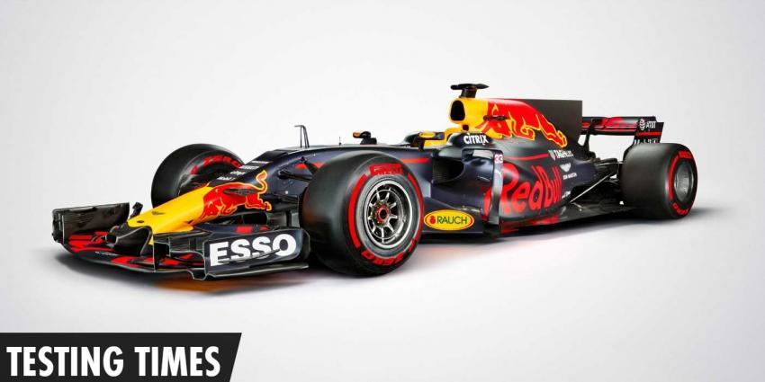 Nieuwe bolide van Max Verstappen en Daniel Ricciardo