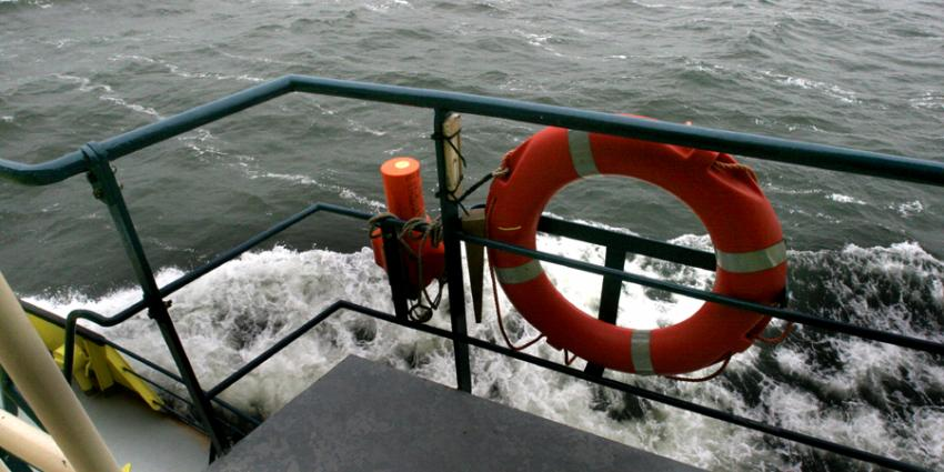 Foto van reddingsband boot   Archief EHF