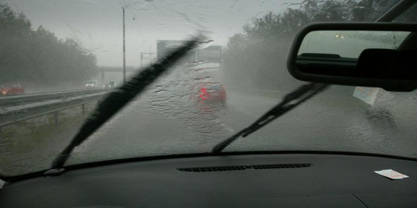 Maandag een dag met veel regen