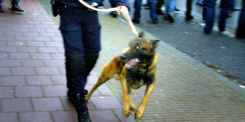 Arrestant overleden na beet politiehond