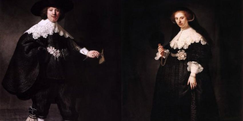 Rijksmuseum gaat aangekochte 'Rembrandt-echtpaar' restaureren