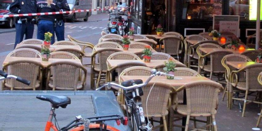 Vier arrestaties in Amsterdam na bedreiging met vuurwapen op Rembrandtplein