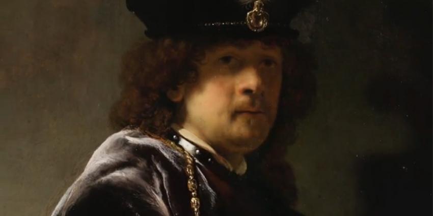 Foto van zelfportret Rembrandt | National Trust