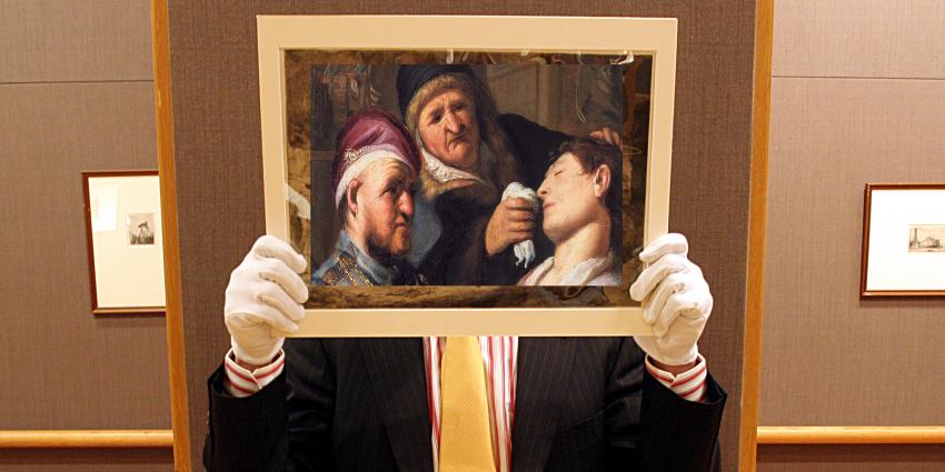 'Nieuwe' Rembrandt ondekt en is te zien op TEFAF