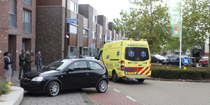 Ambulance op plaats van ongeval