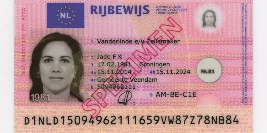RDW introduceert nieuw model rijbewijs