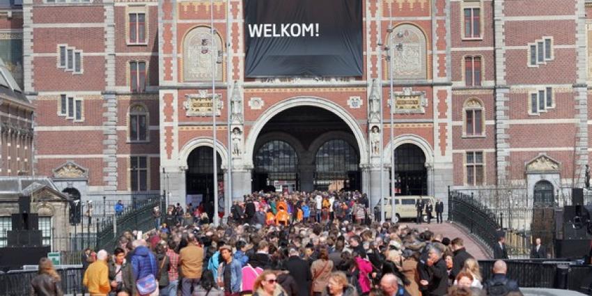 Rijksmuseum ontruimd door stroomstoring in Amsterdam
