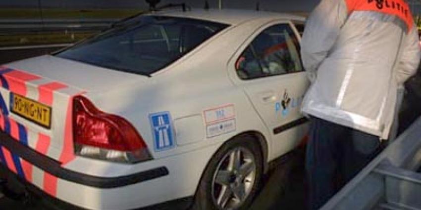 'Hasj-auto' inbeslaggenomen na opvallend rijgedrag
