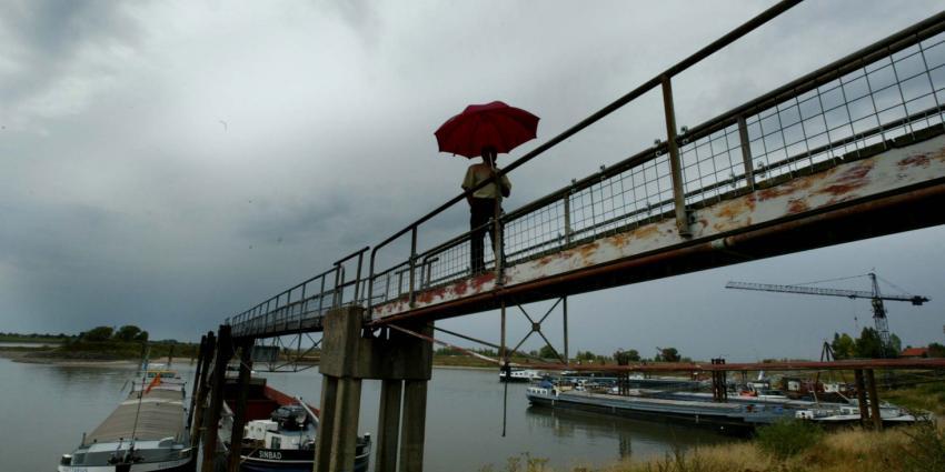 foto van hoge water rijn | fbf
