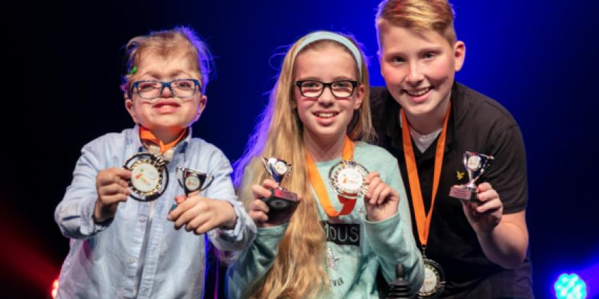 3 nieuwe kinderambassadeurs gekozen tijdens grote theaterfinale