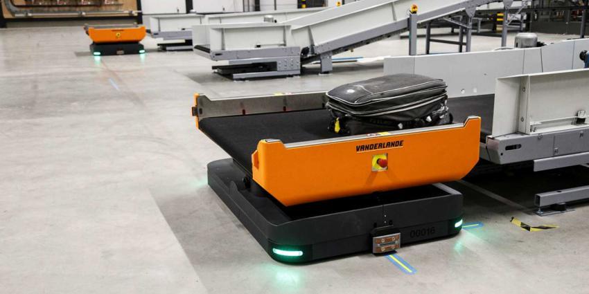 Rotterdam Airport test gerobotiseerde afhandeling bagage