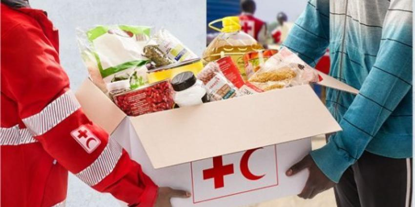 Voedselpakket Rode Kruis