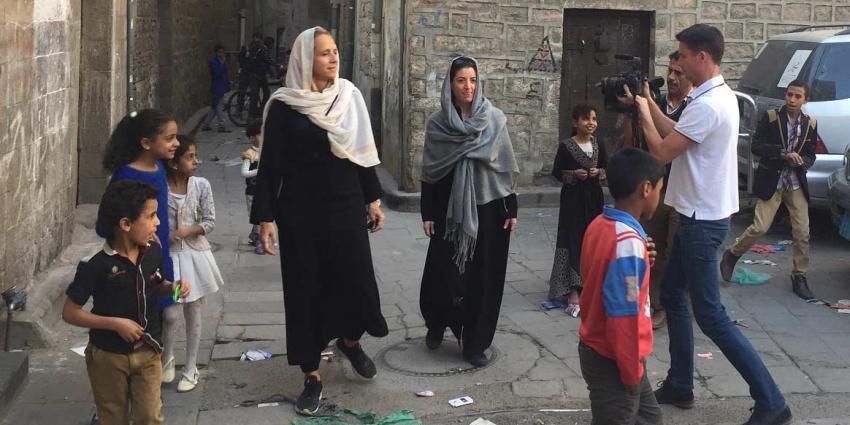 Floortje Dessing ontsnapt uit Jemen