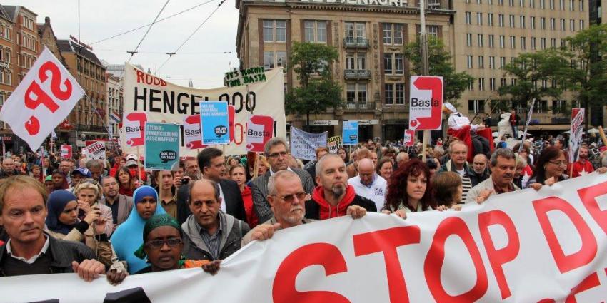 foto van manifestatie | bon