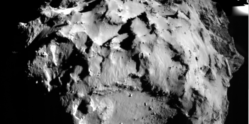 Eerste foto van Komeet ESA