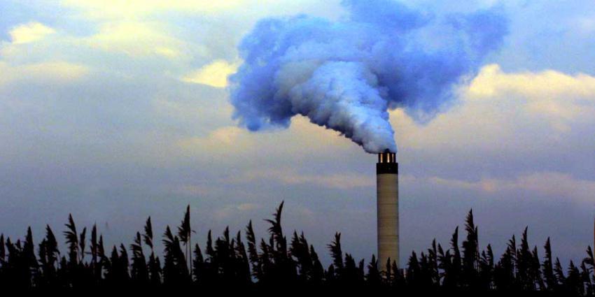 CO2-uitstoot in 2017 gelijk aan die in 1990