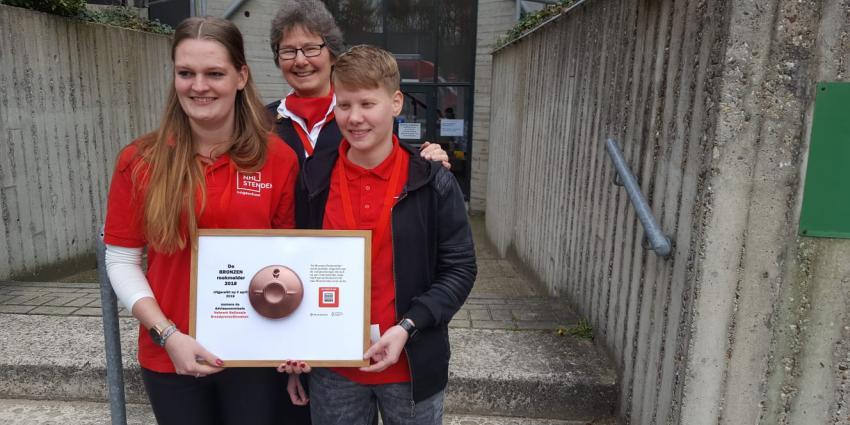 Brandweer Drenthe wint Bronzen Rookmelder