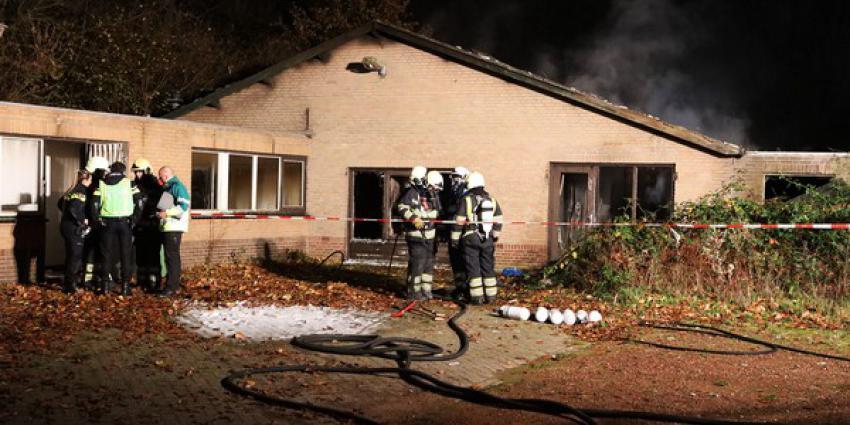 Brandweer redt zwerver uit brandend pand in Rosmalen
