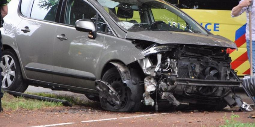 Baby gewond bij ongeval Hardenberg
