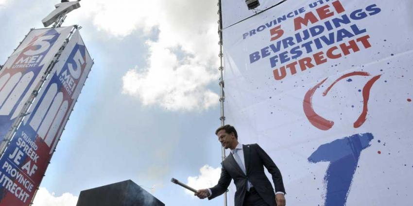 Foto van Rutte Bevrijdingsvuur | Aneo Koning | www.fotokoning.nl