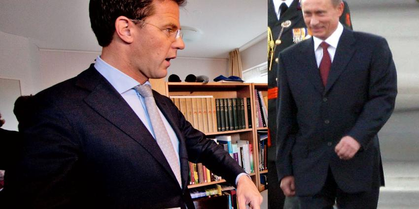 Rutte spreekt met Poetin op top in Milaan