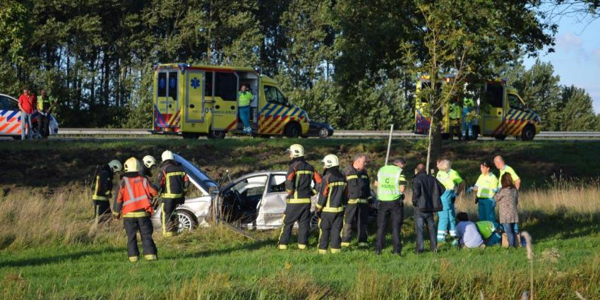 Brokken en gewonden bij mogelijke verkeersruzie