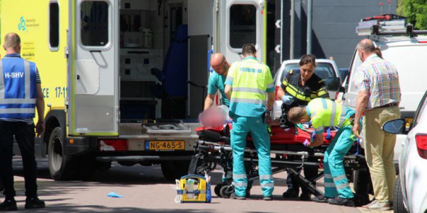 scooterrijder, ernstig gewond, val, s-gravanlandseweg, schiedam