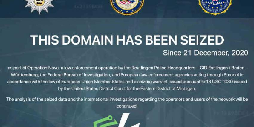 Virtual Private Network Safe-Inet uitgeschakeld