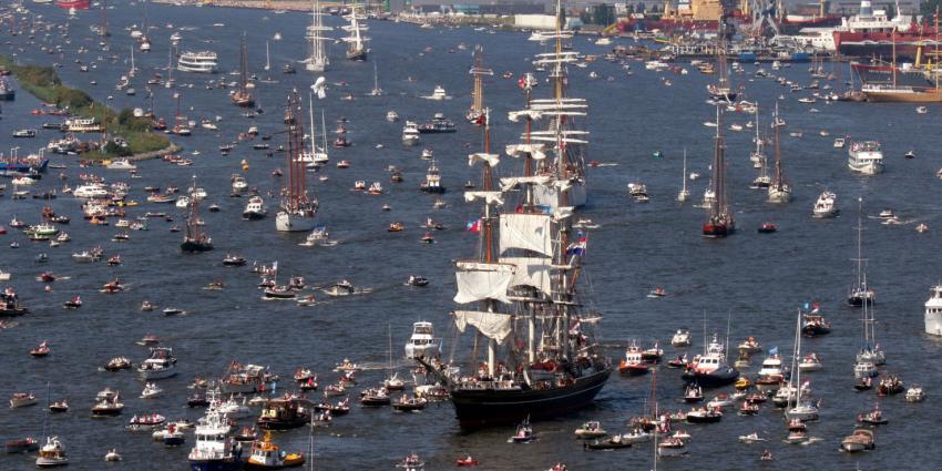 Sail-In Parade 2015 met 8 kilometer lengte twee keer zo lang