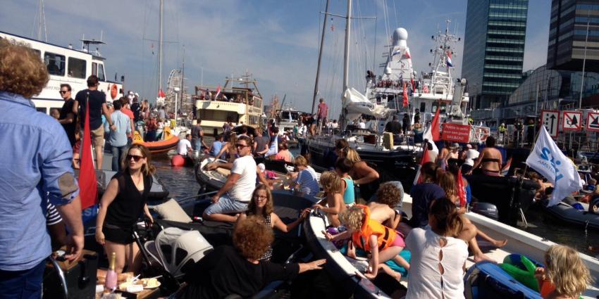 Topdrukte op vierde dag van Sail