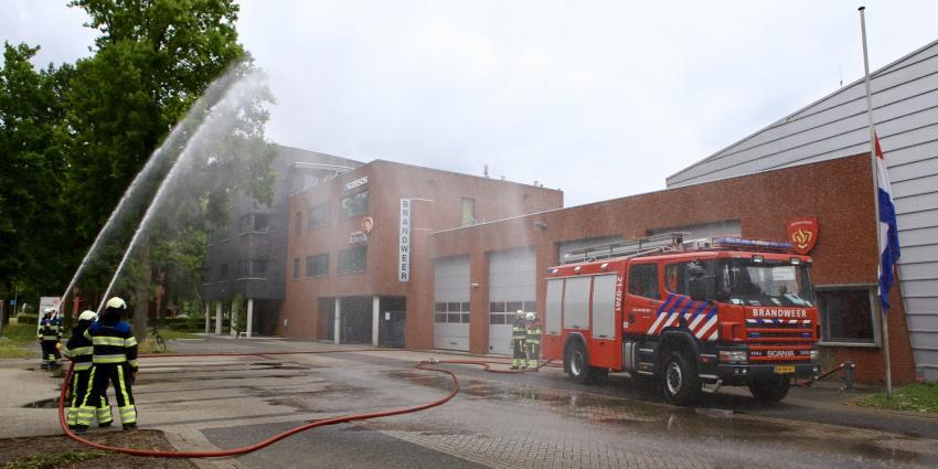 Brandweerlieden herdenken omgekomen collega's