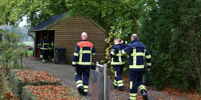 Brand in bijgebouw Son en Breugel