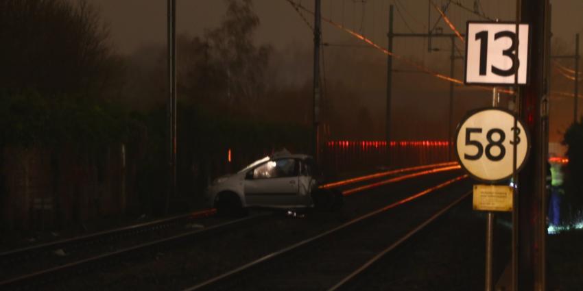 Trein ramt auto in Boxtel