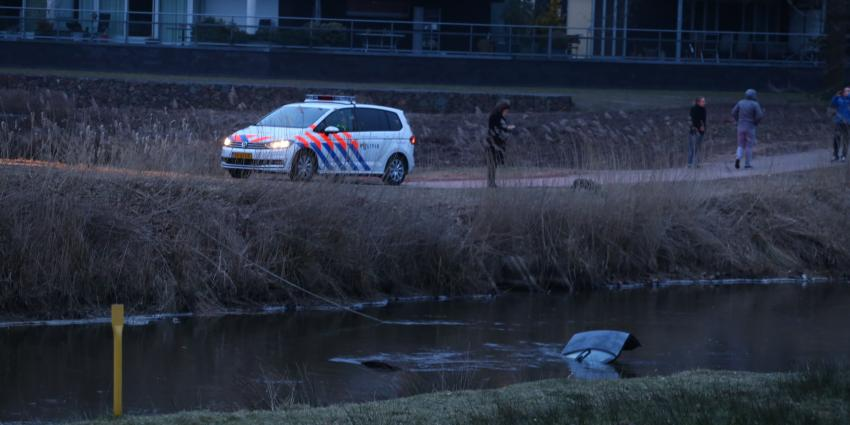 Berging te water geraakte auto Boxtel nog een flinke klus