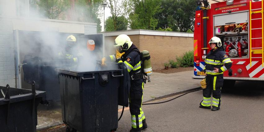 Groot alarm voor kleine brand in containerruimte van flat in Boxtel