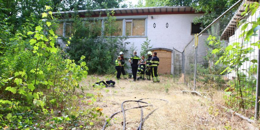 Brand in verlaten pand in Boxtel