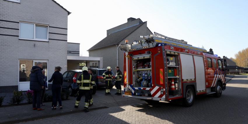 Keukenbrand in woning aan Eekelhof in Schijndel