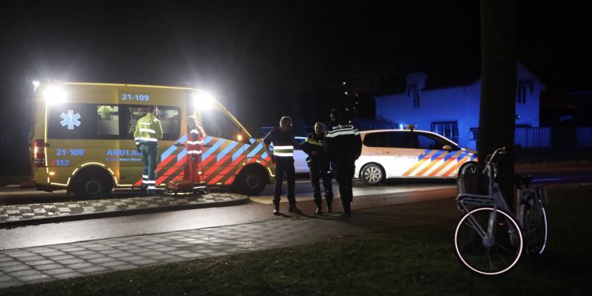 Hulpverleners bij ongeval