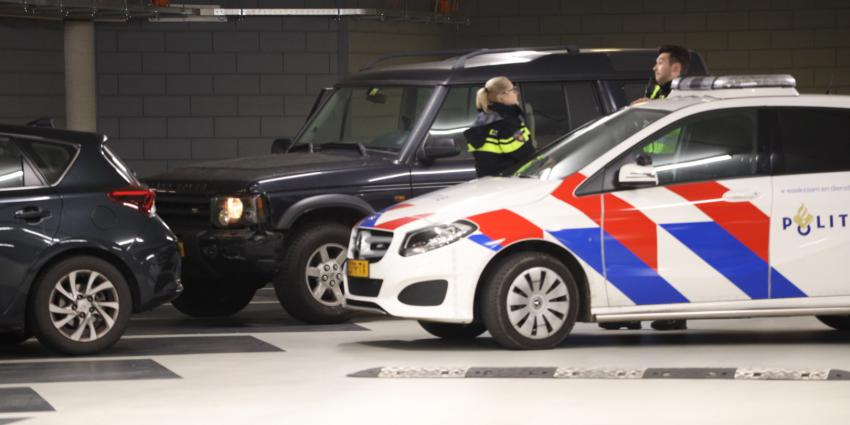 overleden persoon in parkeergarage