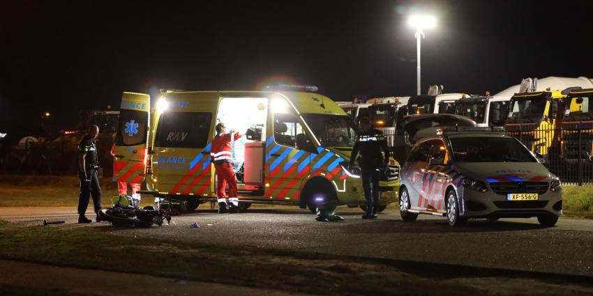 Motorrijder gewond