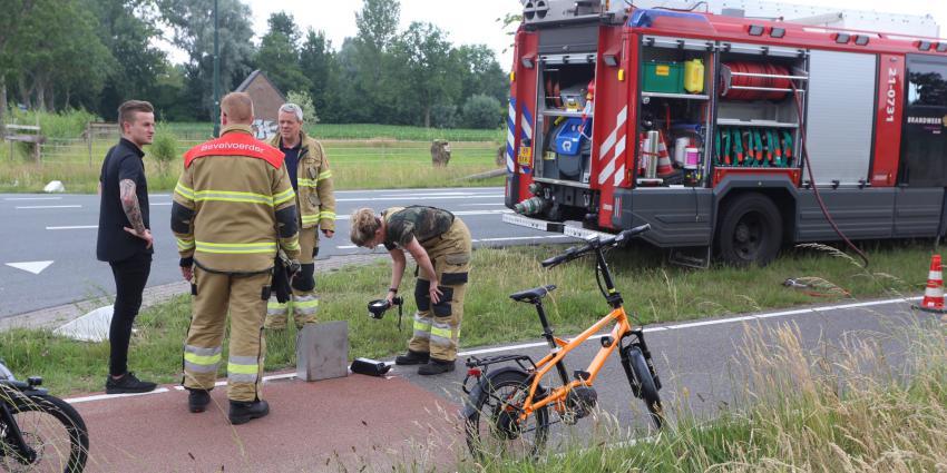 Accu elektrische fiets gekoeld met water