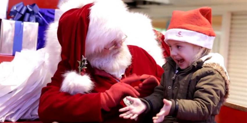 Een warm kerstgevoel bij het bekijken van deze bijzondere Kerstman