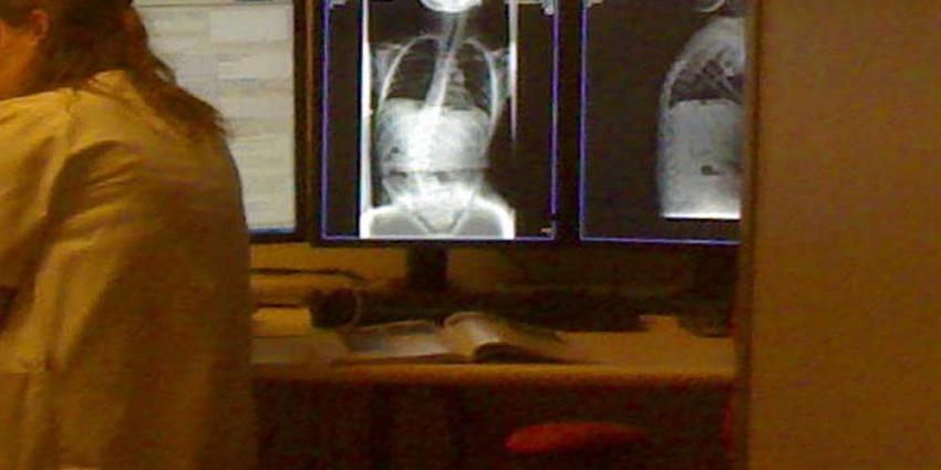 Foto van röntgen scan ziekenhuis | Archief EHF
