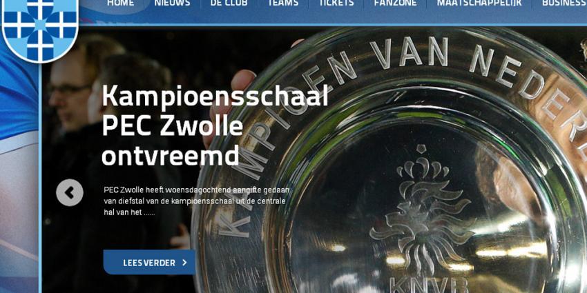 Foto van kampioensschaal PEC Zwolle | PEC Zwolle