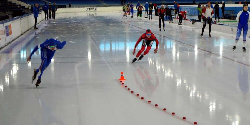 Internationaal schaatstoernooi Viking Race voor junioren in Thialf