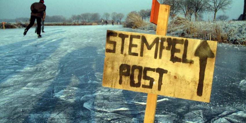 Winterweer op komst, schaatsen kunnen weer uit het vet