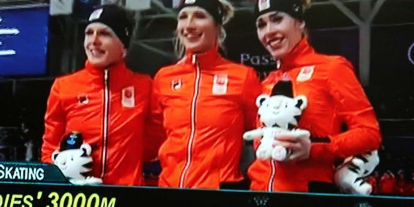 Nederlanders pakken goud, zilver én brons op 3000 meter
