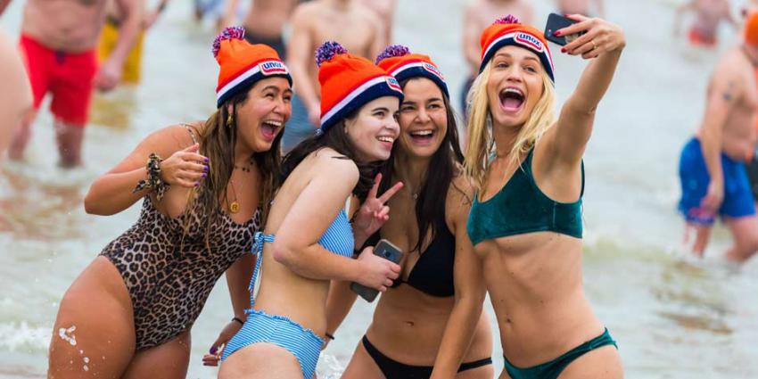 Ruim 60.000 mensen zijn nieuwe jaar met frisse duik begonnen