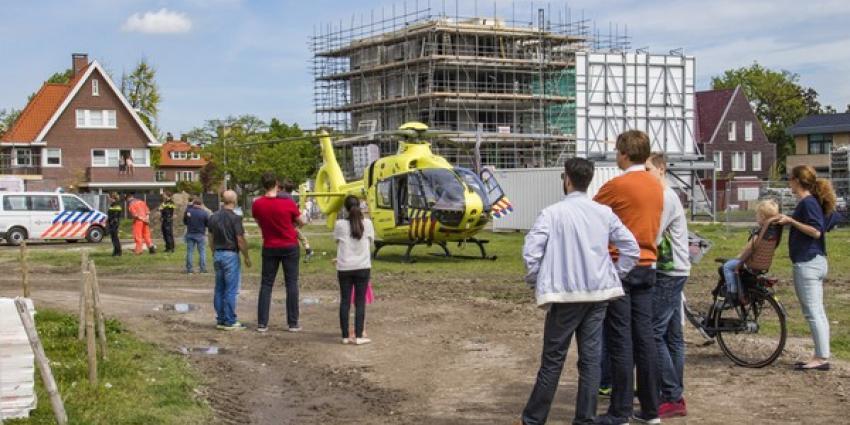 Traumahelikopter assisteert bij medische noodsituatie